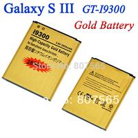 30 pcs High Capacity 2850mah Gold Golden Battery For Samsung Galaxy S3 S III GT i9300 GT-I9300 Batterie Bateria Batterij AKKU