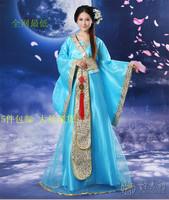 Hanfu women's ancient clothes fairy hanfu one-piece dress costume tang suit hanfu princess mounted