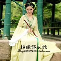 Costume hanfu female women's fairy ancient clothes princess classical dance costume women's