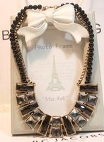 Rhinestone necklace accessories female fashion accessories necklace simple all-match short design necklace