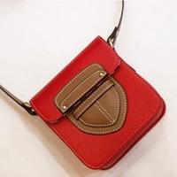 2014 summer small bags women's handbag one shoulder small bag messenger bag fashion color block