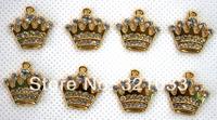 Gift ! Hot ! New 100pcs Singbet diamond DIY SUPER MARIO Jewelry Making Pendants