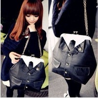 2014 spring women's bag fashion cross-body shoulder bag personality hasp suit bag female bags