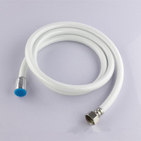 "Hand Shower Hose PVC Plumbing Hoses Inlet Pipe Connector Standards DN15(G1/2"") Length 1.2/1.5/2.0m"