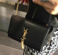 Women Clutches Purse Tote Bag Handbag Shoulder Bag With Gold Hardware Tassel Bags