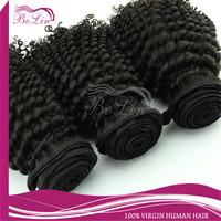 AAAAA grade cuticle intact mongolian kinky curly virgin hair mixed length 3pcs/lot fast free shipping