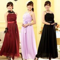 F~3XL!! New 2014 Women Fashion Plus Size XXXL Sexy Strapless Draped High Wasit Flower Chiffon Slim Long Maix Evening Party Dress