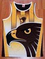Hawthorn hawks afl rugby child vest