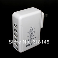 sales promotion - New product 5V6A 6USB Ports Home Travel Wall  Charger  For Galaxy S3 S4 Note 2 3 iPhone 4S 5 5S 5C iPad 3