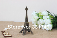 10cm (Height) Restore Bronze Paris Eiffel Tower Statue Metal Figurines Home & Bookshelf Decoration Favors