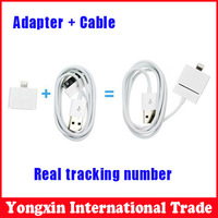 High quality for Iphone 4/4s cable usb charger and Mobile Phone Adapter Charger Adapter 30 pin to 8 pin adapter for Apple iphone