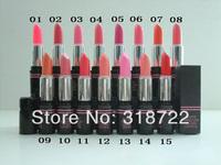 Free shipping New arrived brand makeup lip stick 150pcs Cosmetic WATER EMBELLISH CHARM LIPSTICK 8G 15 COLORS ( 150 PCS /LOT)
