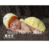 2014 duck animal baby one-piece style baby cap