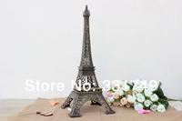 38cm (Height) Restore Bronze Paris Eiffel Tower Statue Metal Figurines Home & Bookshelf Decoration Favors