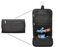 2014 German Style Hight quantity Black New Organizer Shaving Bag Deluxe Large Hanging Hook Men Women Travel Toiletry Kit bags