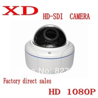 1080P HD SDI dome waterproof Security Video surveillance CCTV Camera/80m infrared night vision/3.6mm board lens/WDR DNR HD-SDI