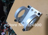 1pcs High-end custom spindle clamp 48mm aluminum spindle mounts/fixture/chuck/ bracket Clamp/holder Clamps/ hold seat /fastening