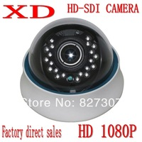 Free shipping for Full HD SDI camera 1080P  Mega pixel outdoor camera 20meters IR Distance Panasonnic Coms Strong inhibition WDR