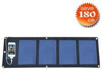 (6W) solar mobile power supply/ film solar bag/ solar folded bag solar charger /
