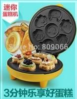 Fully-automatic ml-30a mini-cake machine multifunctional household cartoon electric baking pan bread machine
