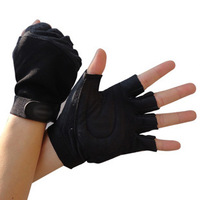 Fitness Fingerless Gloves For Gym Bike Sport Academia Luvas Weight Lifting Cycling Bicycle Workout Guantes Men Women S394