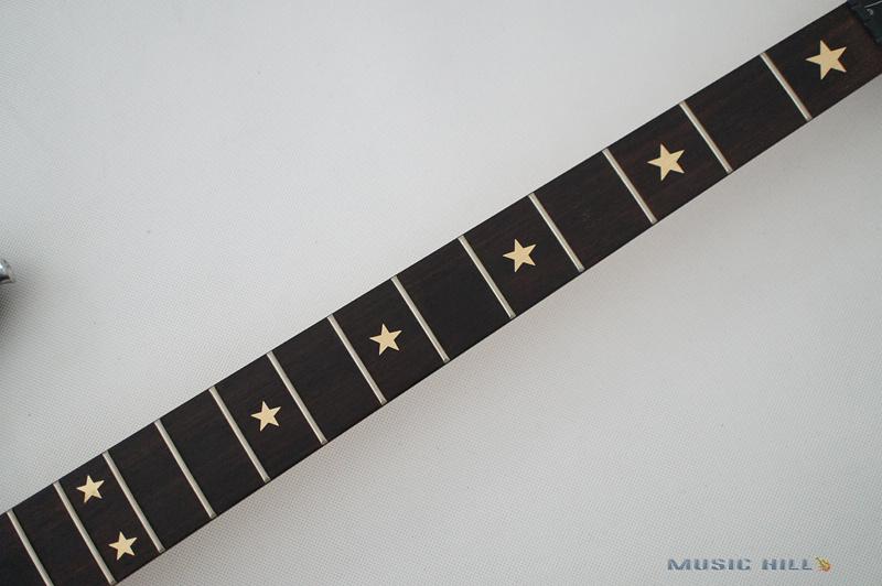 Bass Star Frets Inlay Decal sticker Metal Gold BIG-028 Guitar Parts(China (Mainland))