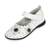 Children shoes 2014 spring female child sandals child princess female child leather shoes cutout shoes genuine leather