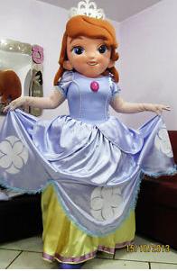 MASCOT CITY SOFIA princess mascot costume custom fancy costume cosplay kits mascotte fancy dress carnival costume