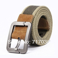 2014 explosion models Taobao wild casual canvas belt men belt factory wholesale personalized J10 Free shipping