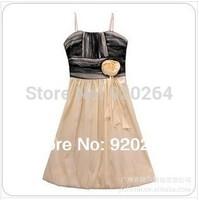 New Fashion  2014 Summer Elegant Sweetheart Lantern Hem Plus Size Sling Knee-Length Women Party Dress /Dresses  Z-LS0013
