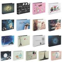 Diy Photo Album Black Card Type Handmade Baby Lovers Photo Collection Scrapbooking New 95306-95323