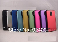100pcs/lot,DHL Free dirt resistant Metal Brushed Aluminum Hard Case Cover,new arrive phone bags case,For Samsung Galaxy S5 i9600