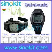 Sport  50m Waterproof Multifunction Memory/Clock Monitor Calorie heart rate pulse meter watch XLJK009