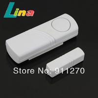 10pcs/lot Mini Wireless Home Security Window Door Entry Alarm RV Burglar Sensor Alarm Detector