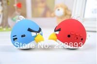 Cute BABY GIFT, Bird MINI Speaker,Support FM TF Card,Portable Cartoon MP3 Speaker,TF Card Music Player+FM Radio