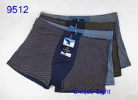 Free Shipping! 5pcs/lot Underwear Men Printed Boxer Man Underpants Fashion Sexy Bamboo Fiber 6XL