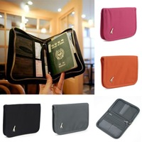 Travel Passport Credit ID Card Holder Cash Wallet Pouch Organizer Bag Purse Multi-function New 95362 95377-95379