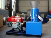 100-150KG/H flat-die feed pellet machine, poultry feed pellet mill