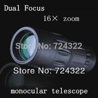 HD Optics 16X52 Dual Focus astronomic telescope compact MINI monocular astronomical binoculars Night Vision Scope Free Shipping
