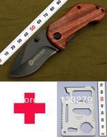 BOKER Plus DA33 Mini Small Camping Pocket Knives  + 11 in 1 Mini Multi Tool Card with Free Shipping
