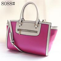 Michaels women handbags Big stars Bags leather Handbag tote purse luggage Smiley zipper bags #8088#