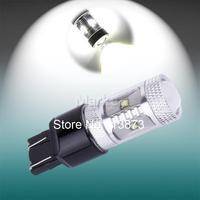 2pcs 7443 7440 W21/5W T20 30W Cree XBD LED Lamp car Fog Head Bulb auto Vehicles Turn Signal Tail Brake Lights car light source