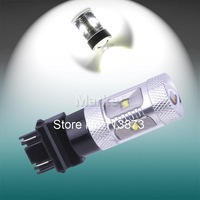 2pcs 3156 3157 P27/7W T25 30W Cree XBD LED Lamp car Fog Head Bulb auto Vehicles Turn Signal Tail Brake Lights car light source