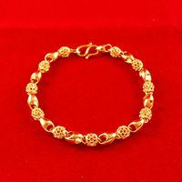 2014 New bracelet! Wholesale Free shipping gold plated bracelet flower shaped bracelet  fashion jewlery  fashion bracelet C006