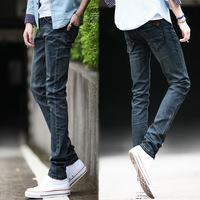 ...-.Spring Summer style Korean Slim / zipper fashion s casual cotton pants feet