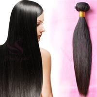 """Unprocessed Malaysian Virgin Hair Straight 3/4Pcs lot Natural Black 8-30"""" Landot Human Hair Weave Rosa Hair Products Tangle Free"""