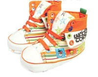 fashion baby Cotton graffiti  first walker/ kids Shoes 0404-4