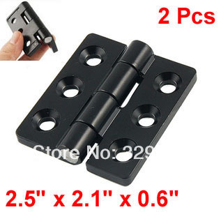"Black 0.25"" Screw Cabinet Window Door Butt Hinge Replacement(China (Mainland))"