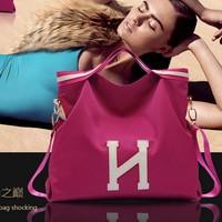 Fashion fashion women's handbag portable casual bags large 2014 female messenger bag waterproof nylon cloth