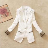 2014 spring ladies elegant casual blazer ol slim small suit jacket female